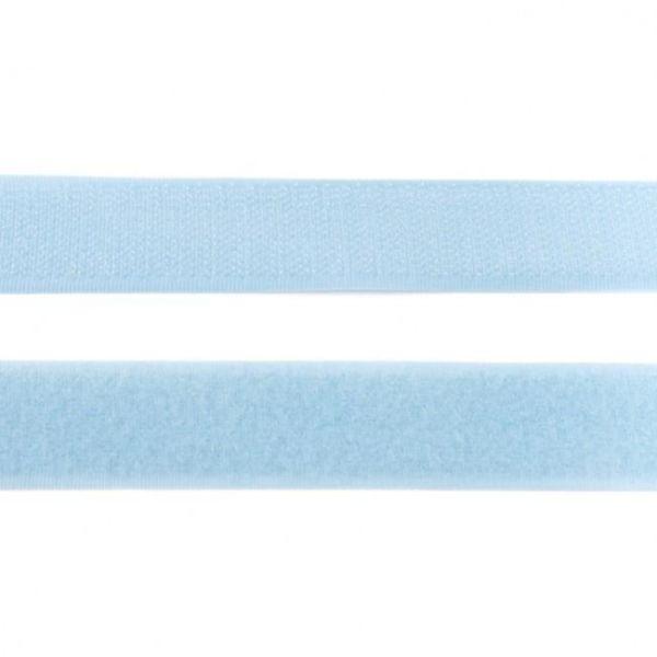 Klettband 25mm hellblau