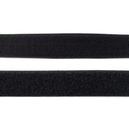 Klettband 25mm schwarz