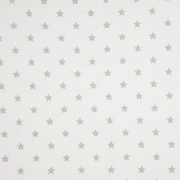 Bündchen mit Sternen weiß