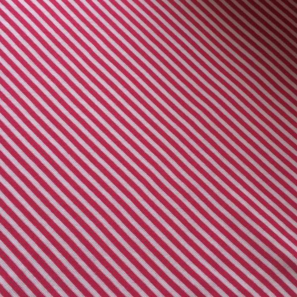 Ringelbündchen pink/weiß
