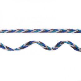 Geflochtenes Band Multicolour blau-hellblau