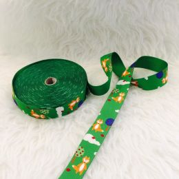 Gurtband Fuchs grün