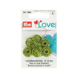 Prym Love Annäh Druckknöpfe 16mm apfelgrün
