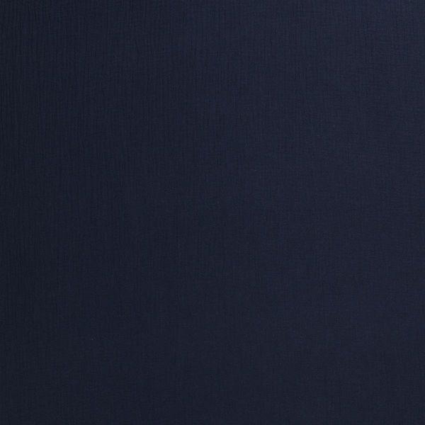 Musselin dunkelblau