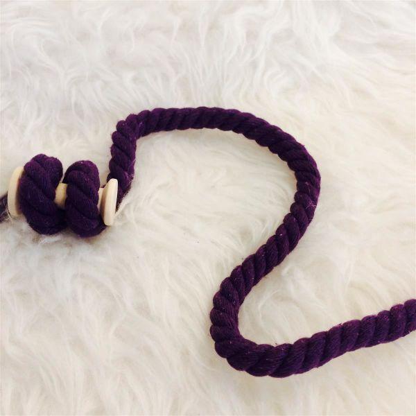 Kordel gedreht 12mm violett