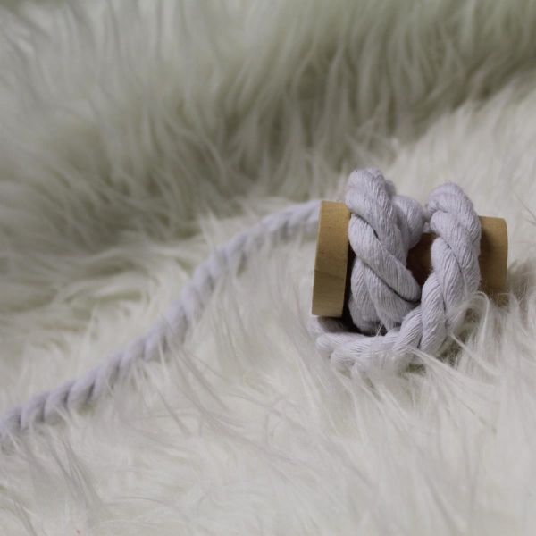 Kordel gedreht 12mm weiß