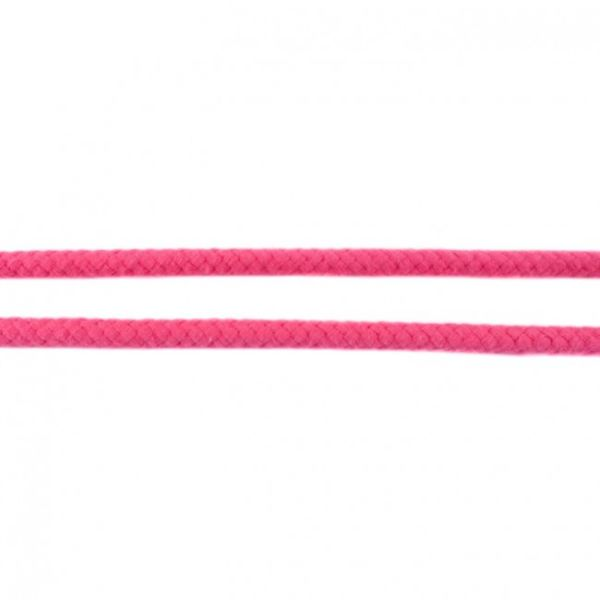 Baumwollkordel 8mm doppelgedreht fuchsia