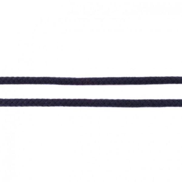 Baumwollkordel 8mm doppelgedreht dunkelblau