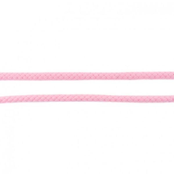 Baumwollkordel 8mm doppelgedreht rosa