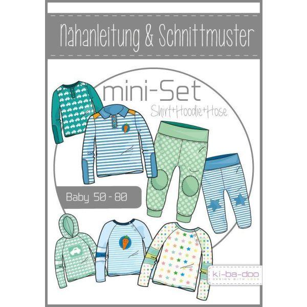 Baby Set Boy  -  DIN A0 Schnittmuster und Anleitung als Broschüre