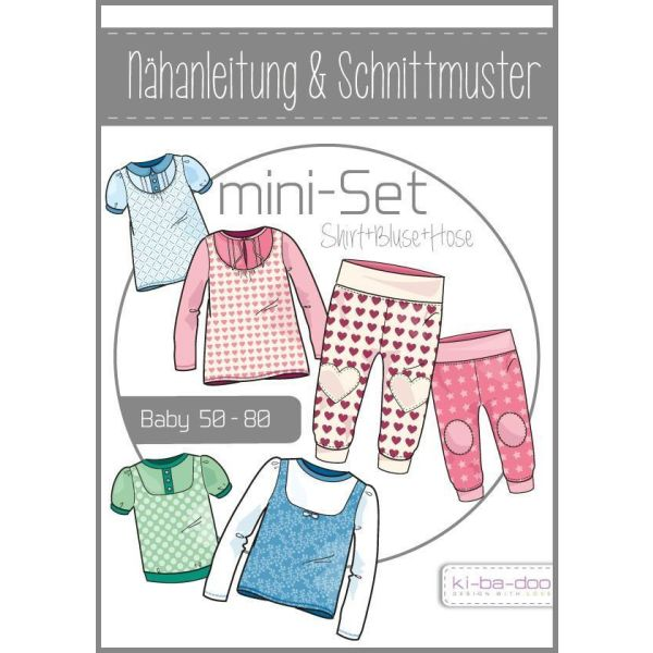 Baby Set Girl  -  DIN A0 Schnittmuster und Anleitung als Broschüre