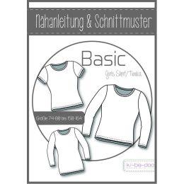 Basic Tunika/Shirt Kids -  DIN A0 Schnittmuster und...