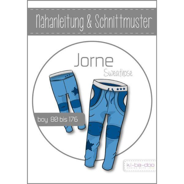 Sweathose Jorne -  DIN A0 Schnittmuster und Anleitung als Broschüre