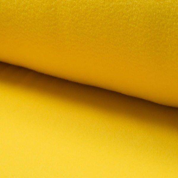 Fleece uni Yellow