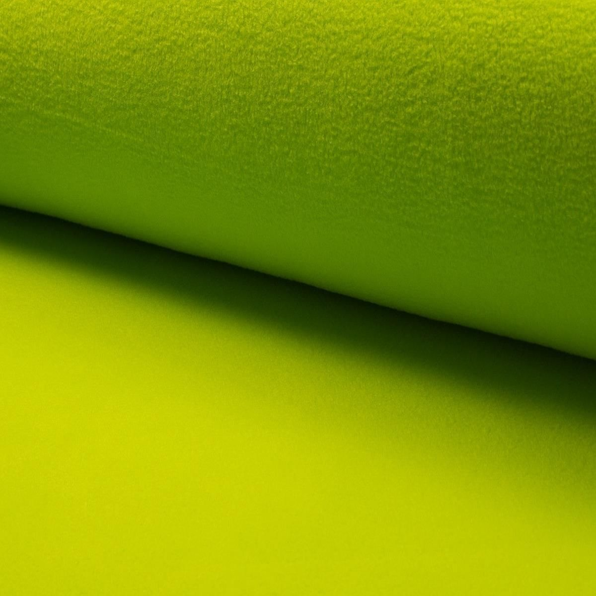 Fleece uni Lime