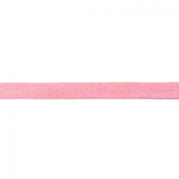 Baumwoll Kordel flach 20mm rosa