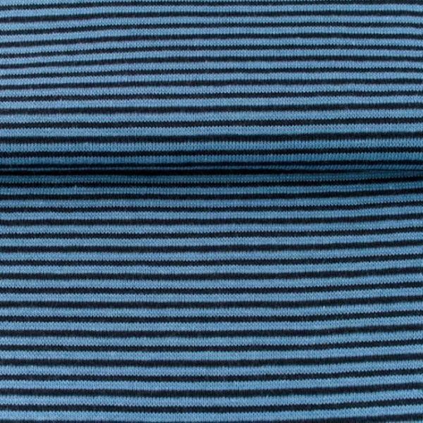 Bündchen Streifen Jeans