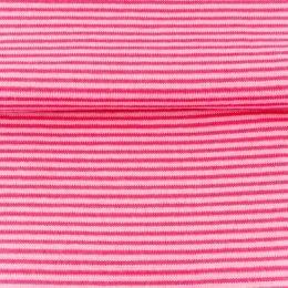 Bündchen Streifen Pink