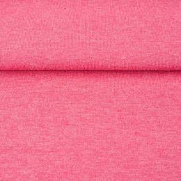Bündchen Meliert Pink