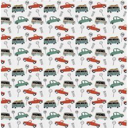 Baumwolldruck Verkehr