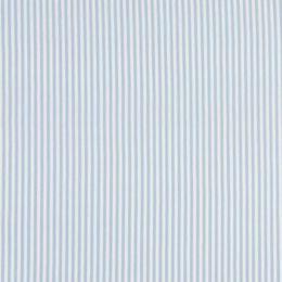 Ringel-Bündchen hellblau/weiß