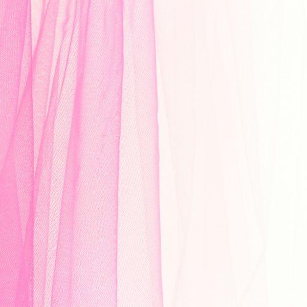 Tüll Regenbogen rosa