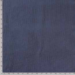 Waffelpiqué indigo blau