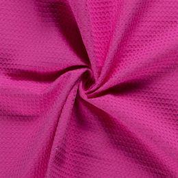 Waffelpiqué fuchsia pink
