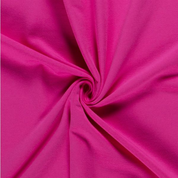 French Terry brushed fuchsia