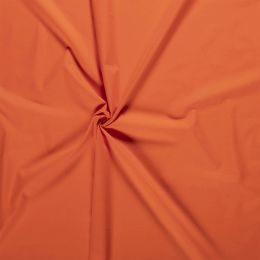 Baumwollstoff Uni orange