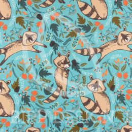 Jersey Waschbär Ross dunkelmint