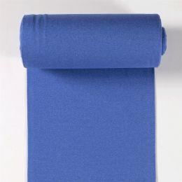 Bündchen meliert kobaltblau