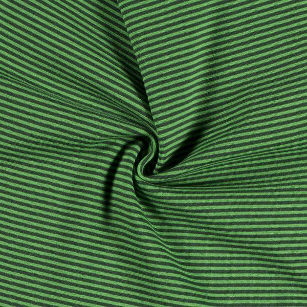 Bündchen Streifen dunkelgrün