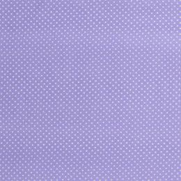 Baumwollstoff Minidots lavendel