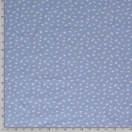 Baumwollstoff Abstract hellblau