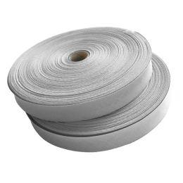 Kochbares Schrägband 36/20 mm gefalzt weiß