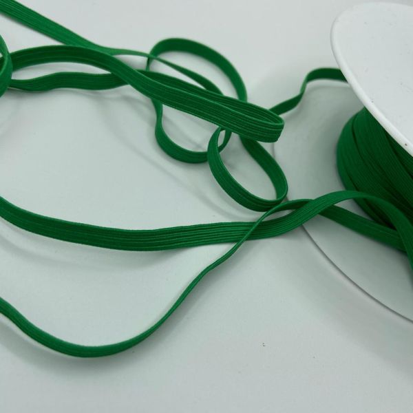Gummiband 6mm grün