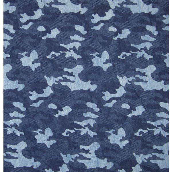 Kunstseide Camouflage jeans