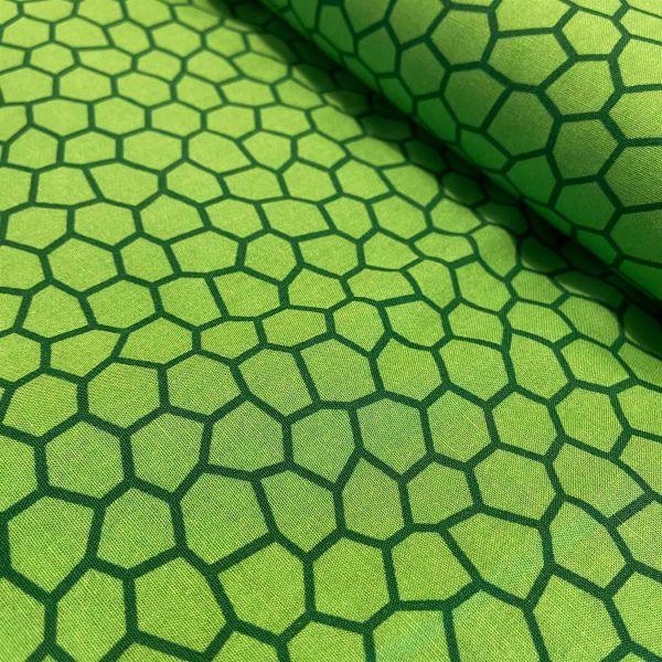 Baumwolldruck Formen lime