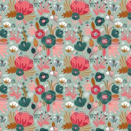 Jersey Flowers mint