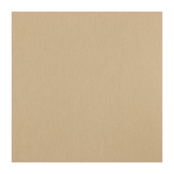 Baumwollstoff uni sand