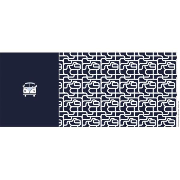 Jersey Bulli blue Panel 0.75X155cm
