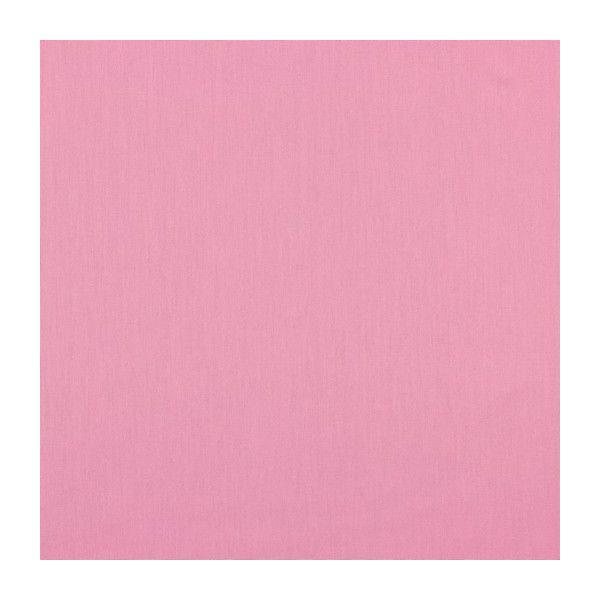 Baumwollstoff uni light pink