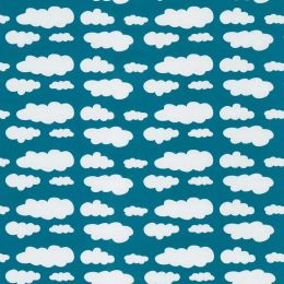 "Swafing ""Verena"" Wolken petrol"