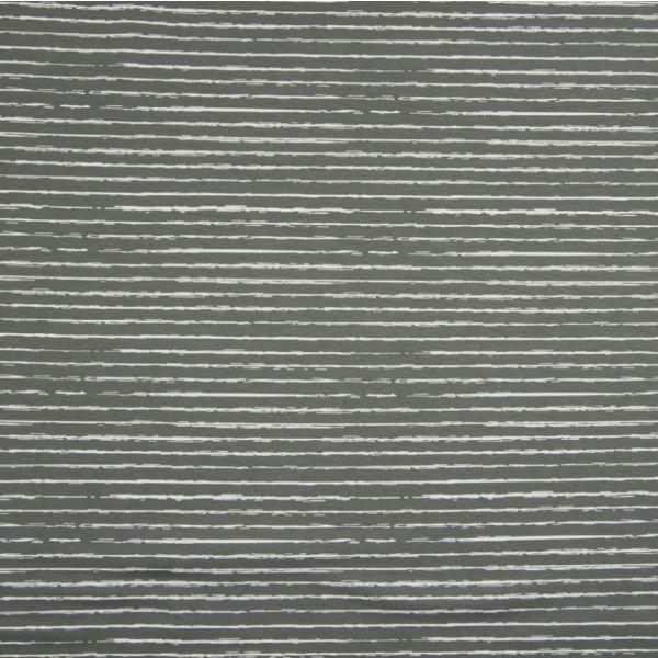 Baumwolldruck Stripes grau