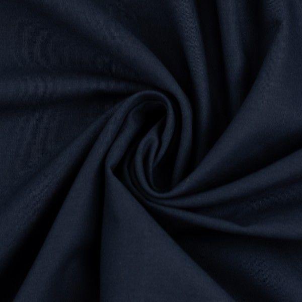 Baumwolle 60 Grad waschbar dunkelblau