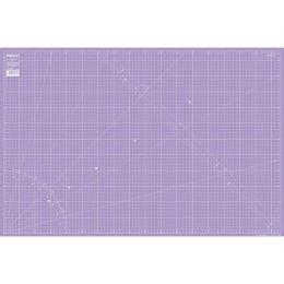 Schneideunterlage 90x60 cm lila