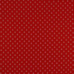 Baumwolle Anker klein red