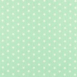 Baumwolle Petit Stars mint