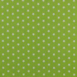 Baumwolle Petit Stars lime